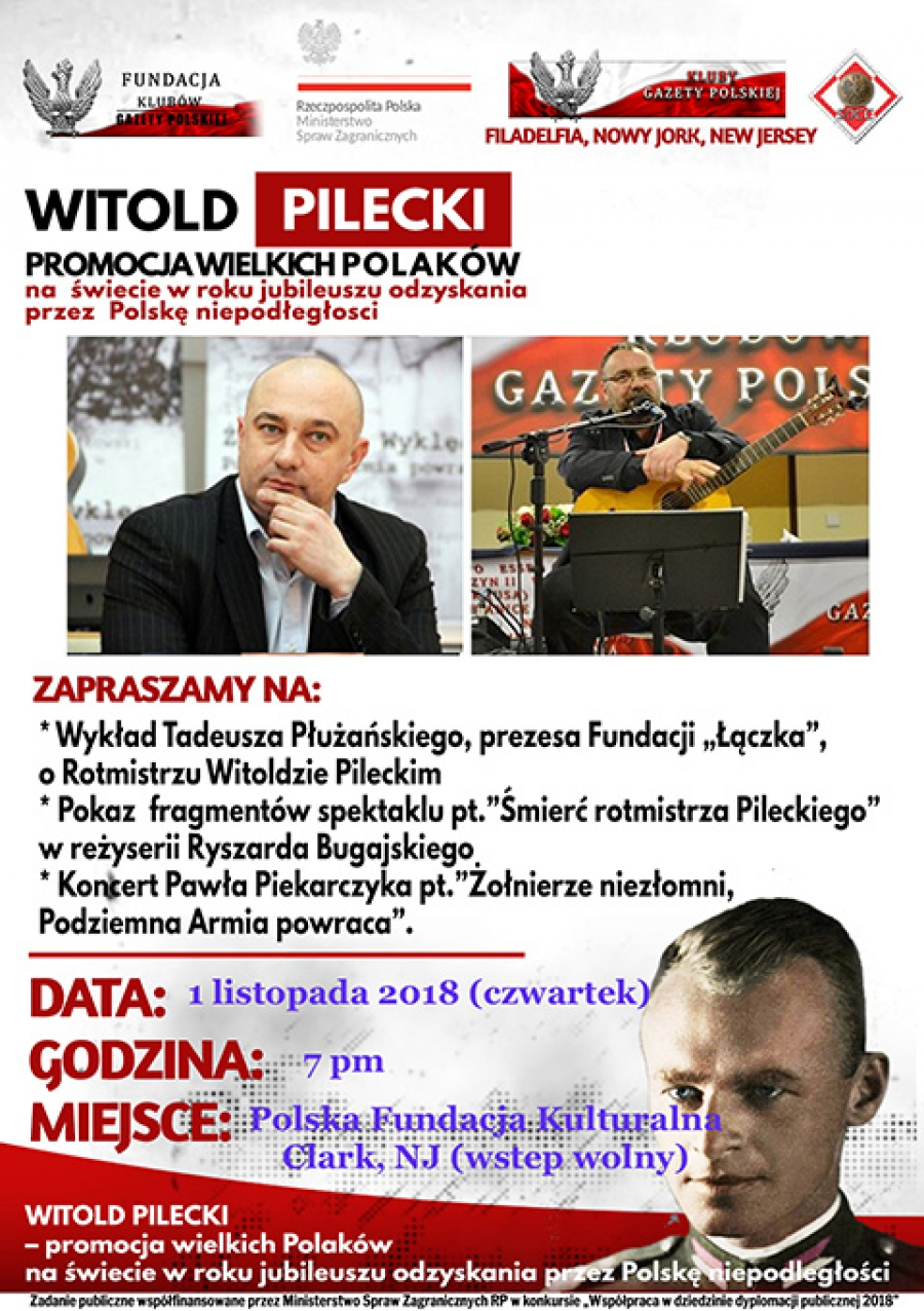 lecture about Captain Witold Pilecki